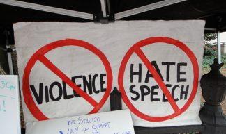 No violence no hate speech - John S. Quarterman