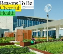 Screenprint David Byrne Reasons to be cheerful on Eskenazi Health