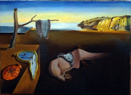 cc Flickr Mike Steele photostream The Persistence of Memory (1931) by Salvador Dali