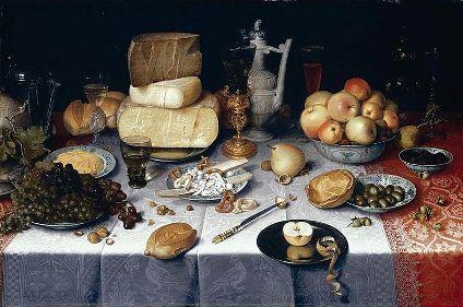 cc commons.wikimedia.org Floris van Dyck - Still-Life - WGA06345
