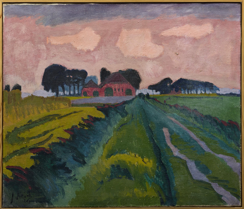 © Groninger Museum 7. Jan Altink, De rode boerderij