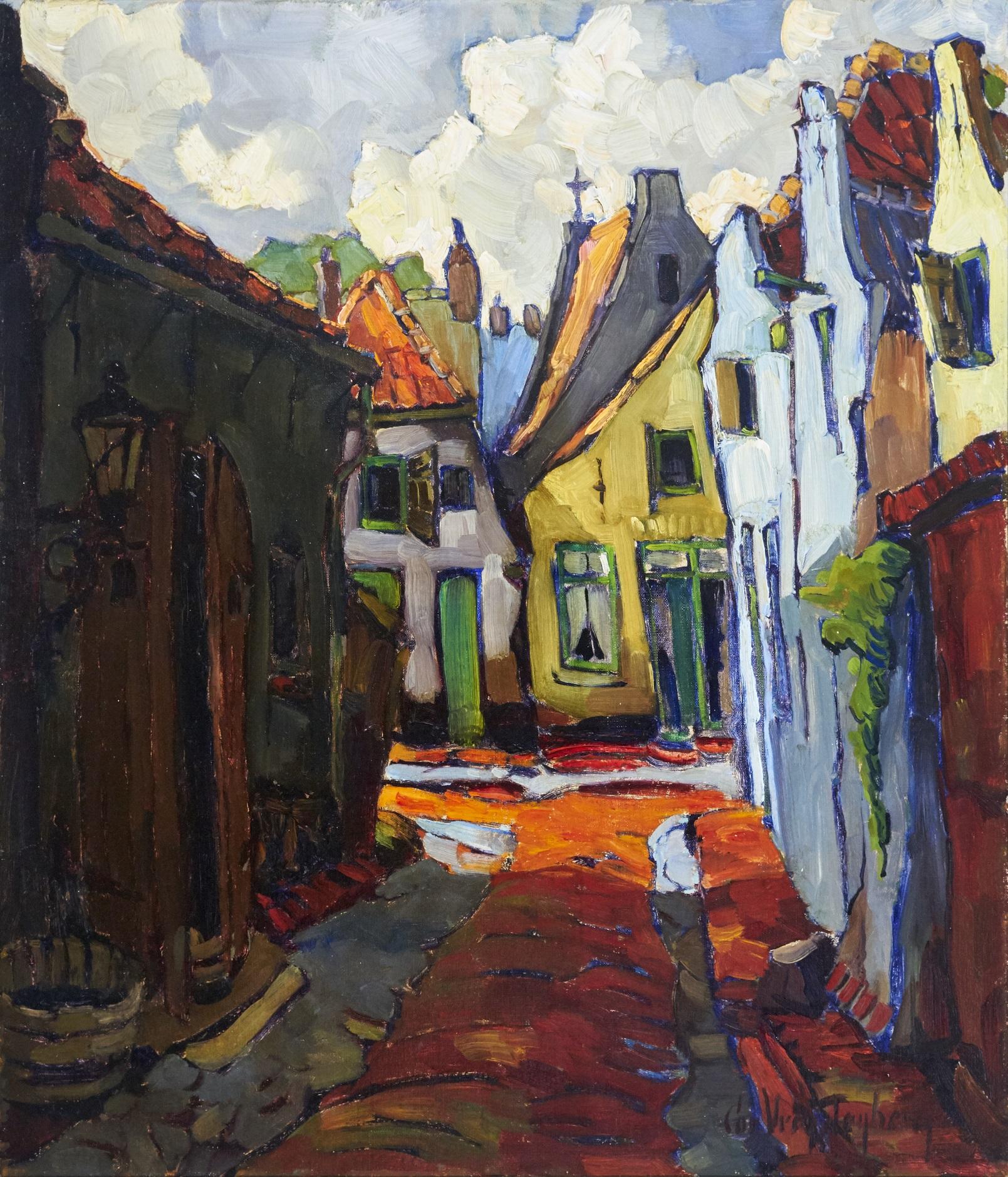 © Noord Veluws Museum Cor Vrendenberg Straatje Elburg Coll Gemeente Nunspeet (2)