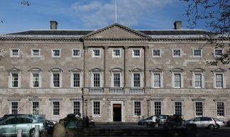 Leinster House (Dáil Éireann and Senead Éireann) - Can Pac Swire