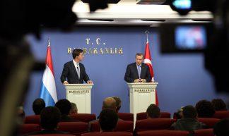 Persconferentie Erdoğan - Minister-president Rutte