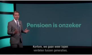 """Screenshot (YouTube): presentatie van Peter van Zadelhoff """"Kortom we gaan weer lopen verdelen tussen generaties"""""""