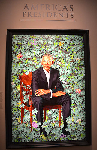 cc Flickr Adam Fagen photostream President Obama in portrait