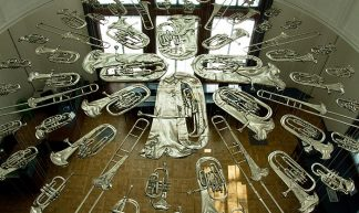 'Breathless' by Cornelia Parker, V&A, London - Chris Beckett