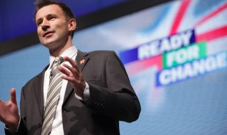 Jeremy Hunt at Conservative Party Conference - Conservatives