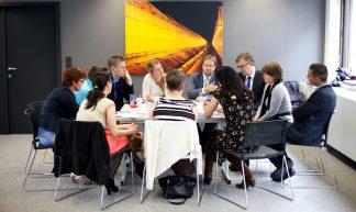 Stip op de Horizon // 6e bijeenkomst // Brussel // Interprovinciaal overleg - Sebastiaan ter Burg