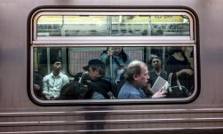 subway riders - Susan Sermoneta