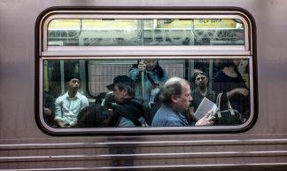 subway riders - Susan Sermoneta
