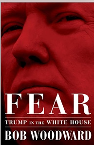 © Simon & Schuster cover Fear by Bob Woodward
