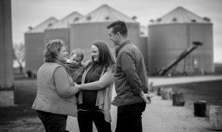 With a North Dakotan Family - Heidi Heitkamp