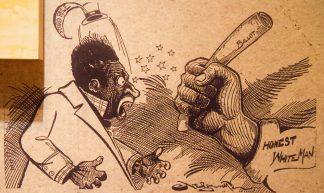 Racist cartoons - Nathan Rupert