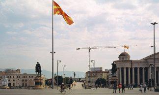Skopje main square - Tonja Lapina