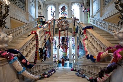 cc Flickr Lux & Jourik photostream Joana Vasconcelos @ The World Belongs to You - Palazzo Grassi