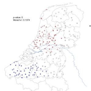 © Diagram uit Why do the Dutch swear with diseases. Onderzoek Tom Ruette en Andrea Pizarro Pedraza, 2018