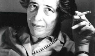 Hannah Arendt (Oct. 14, 1906 - 1975) - Ryohei Noda