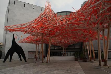 cc Flickr adam w photostream Arne Quinze installation outside MAMAC 2013