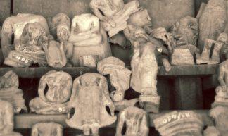 Broken Buddha Statues - William