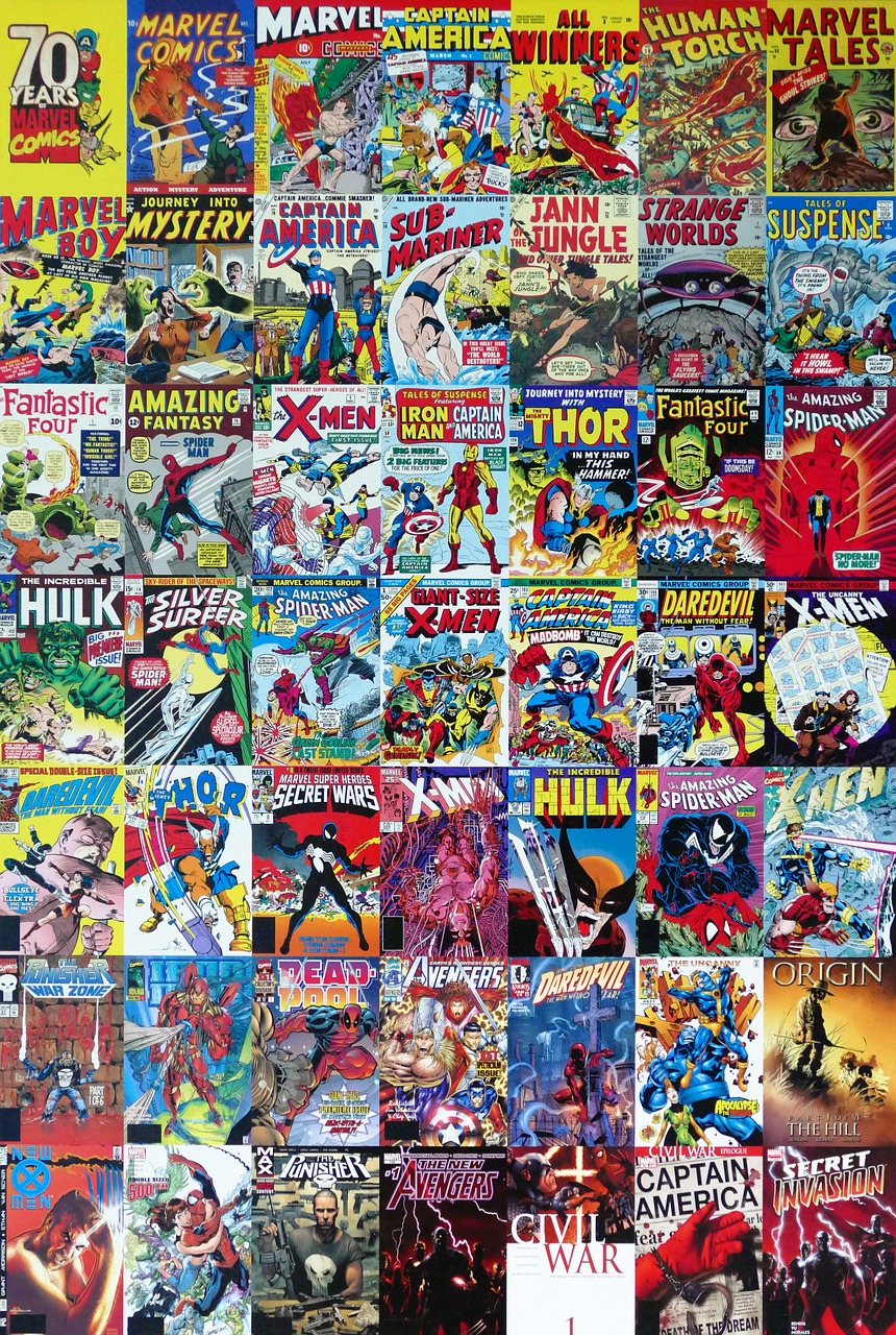Marvel Comic Held