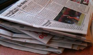 De oogst gratis kranten op mijn plek. Overal liggen die stapels. Wat is dan je bereik? - Arne Hulstein