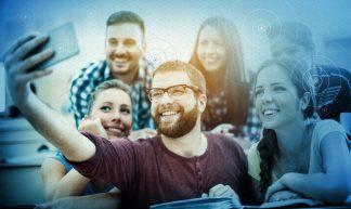 Millennials_Selfie - CommScope
