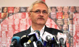 Liviu Dragnea la sediul PSD - 12.11 (2) - Partidul Social Democrat