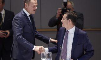 President Tusk at the Informal European Council meeting of 27, 23/02/2018 - European Council President