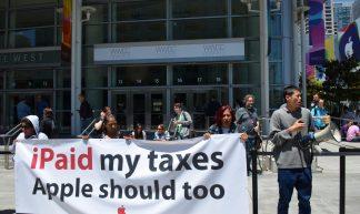 iPaid my taxes Apple should too - Steve Rhodes