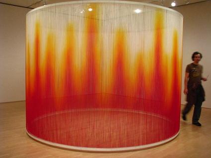 cc Flickr C-monster photostream Teresita Fernandez Fire 2005 SFMOMA