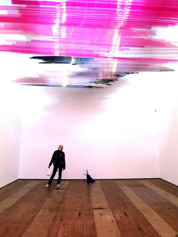 cc Flickr Karl Steel photostream Teresita Fernández, Night Writing, @ Lehmann Maupin Gallery, 201 Chrystie Street 3