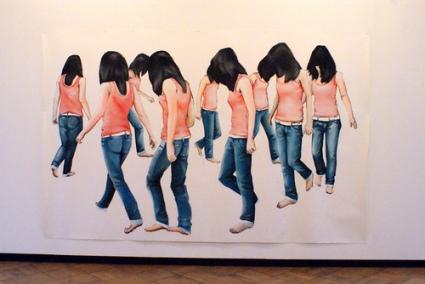 cc Flickr Marc Wathieu photostream Charlotte Beaudry exhibition at STUK (Leuven)