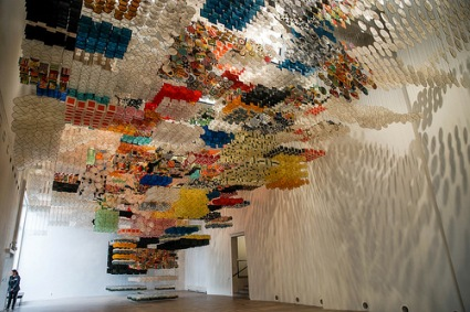 cc Flickr Timo photostream Jacob Hashimoto installation in Turku WAM