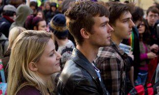 Student profiles / Student protest, London, 9 November 2011 - Chris Beckett