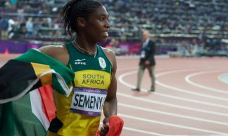 Caster Semenya takes silver in the 800m - Jon Connell