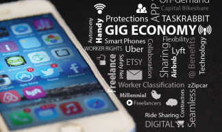 Gig Economy Graphic - Mark Warner