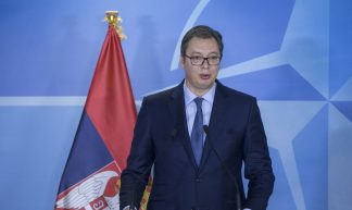 The President of the Republic of Serbia visits NATO - NATO North Atlantic Treaty Organization