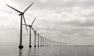 Middelgruden Offshore Wind Farm in Denmark - United Nations Photo