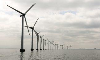 Middelgruden Offshore Wind Farm in Denmark - United Nations Photo