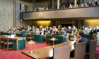 Laatste vergaderdag Eerste Kamer in oude samenstelling - Minister-president Rutte