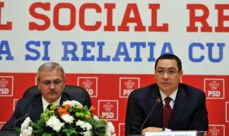 Victor Ponta si Liviu Dragnea la CExN PSD, Palatul Parlamentului - Partidul Social Democrat