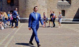 Thierry Baudet  Binnenhof - Roel Wijnants