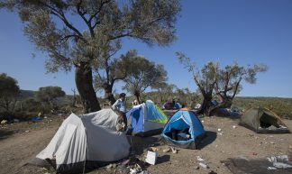 Refugee Camp - Lesvos, Greece - Steve Evans