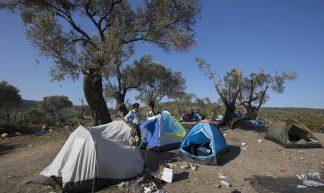 Refugee Camp - Lesvos, Greece - Steve Evans