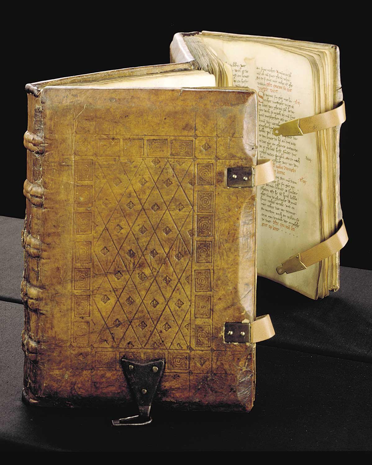 cc commons.wikimedia.org Sachsenspiegel-Handschrift von 1385 der Stadtbibliothek Duisburg