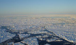 Rough Sea Ice At Sunset - Alaska Region U.S. Fish & Wildlife Service