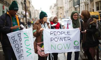 People. Power. Action. D12 protests in Paris - Friends of the Earth International
