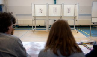 Stemlokaal provinciale verkiezingen 2015 - Sebastiaan ter Burg