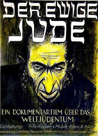 Affiche van Der ewige Jude